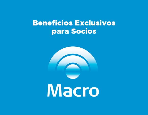 BENEFICIOS CON TARJETAS GRUPO MACRO
