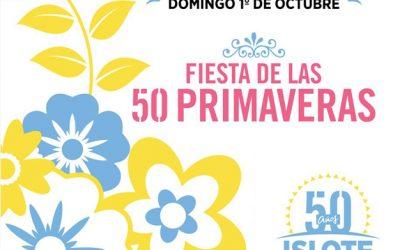 Festejo por las 50 primaveras del ISLOTE CINCUENTENARIO