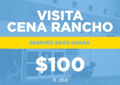 VisitaCenaRancho